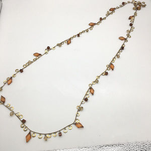 Joan Rivers Jewelry - VTG Joan rivers amber beaded necklace